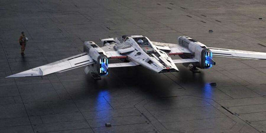 Porsche y Lucas Films presentan esta nave espacial