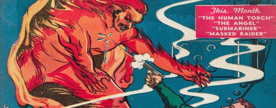 Primer cómic de Marvel se subasta por más de un millón