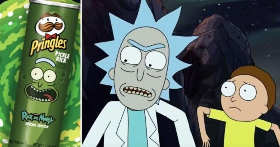Pringles lanza edición Rick and Morty