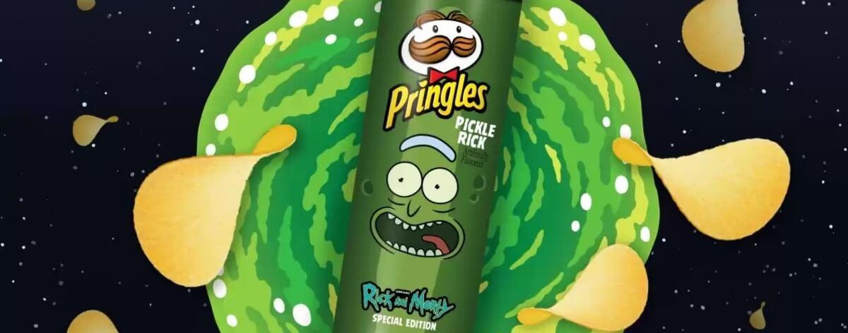 Pringles lanza edición especial de Rick and Morty
