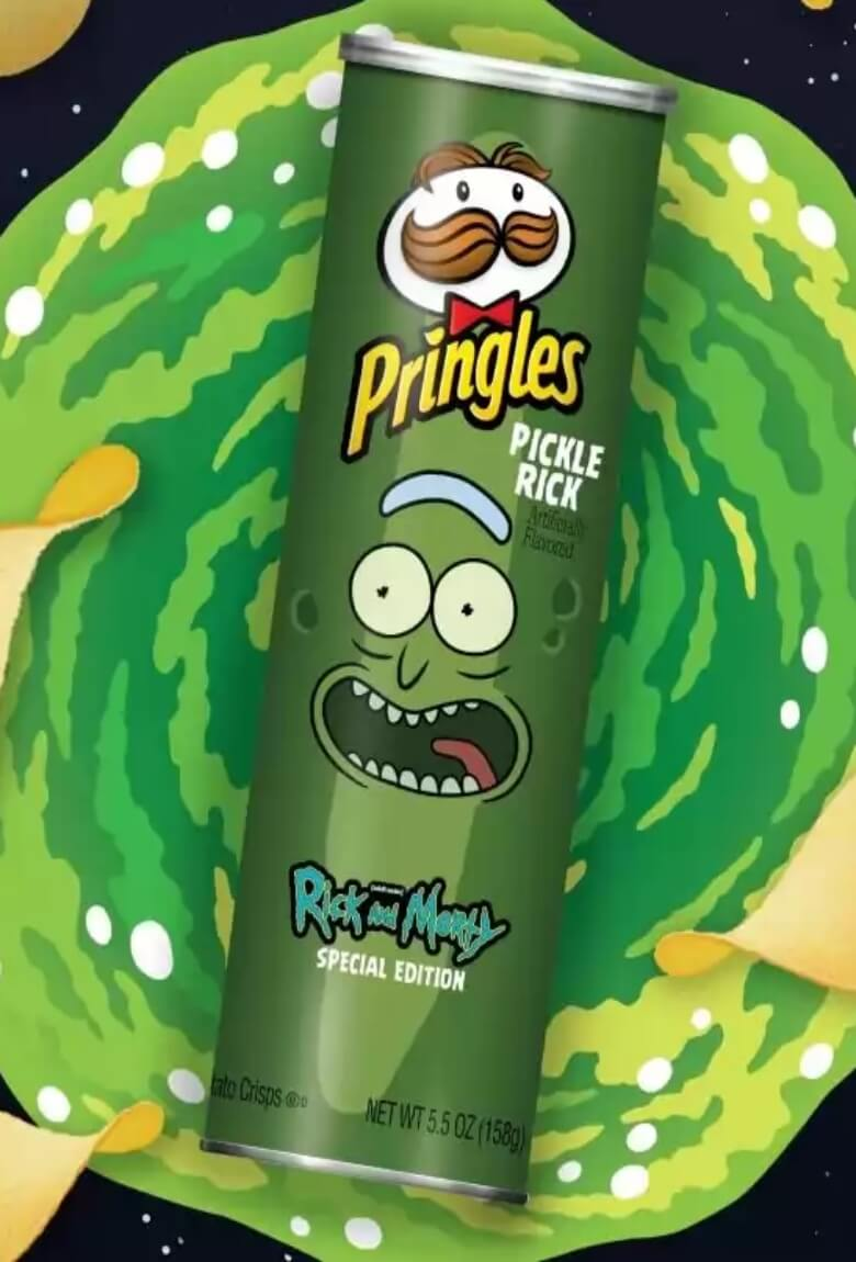 Pringles lanza edición especial de Rick and Morty