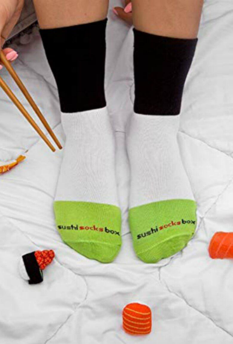 Rainbow Socks y sus calcetines de comida