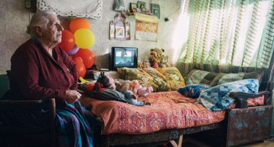 Refugiados de la URSS en las fotos de Ryan Koopmans