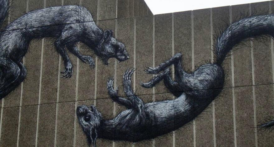 Codex, el nuevo libro con lo mejor del street art de ROA