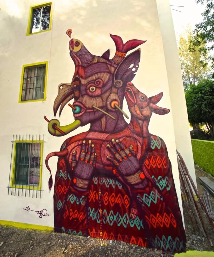 Sego y Ovbal street art orgánico