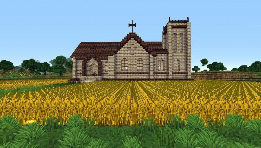 Minecraft religioso