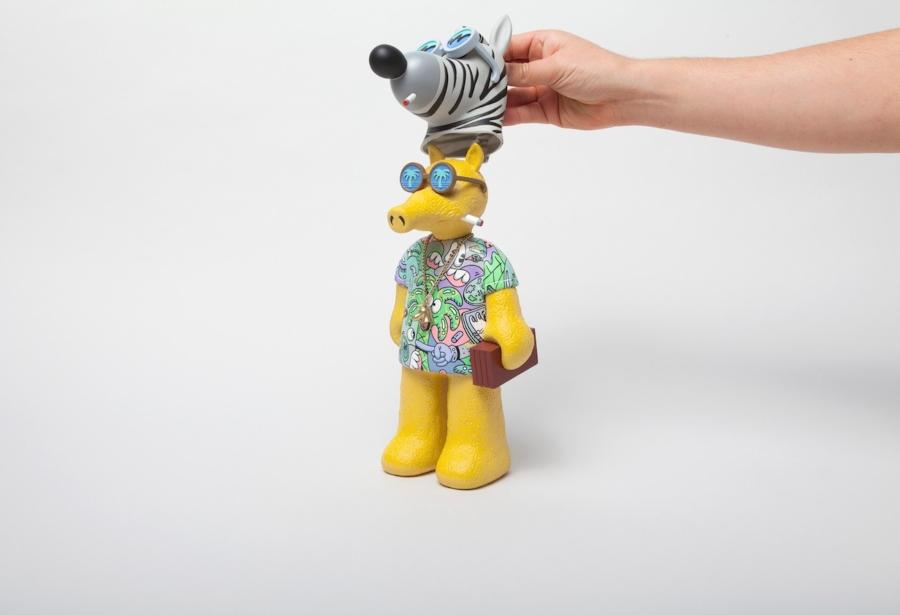 Steven Harrington y  MADGIBBS presentan nuevo juguete