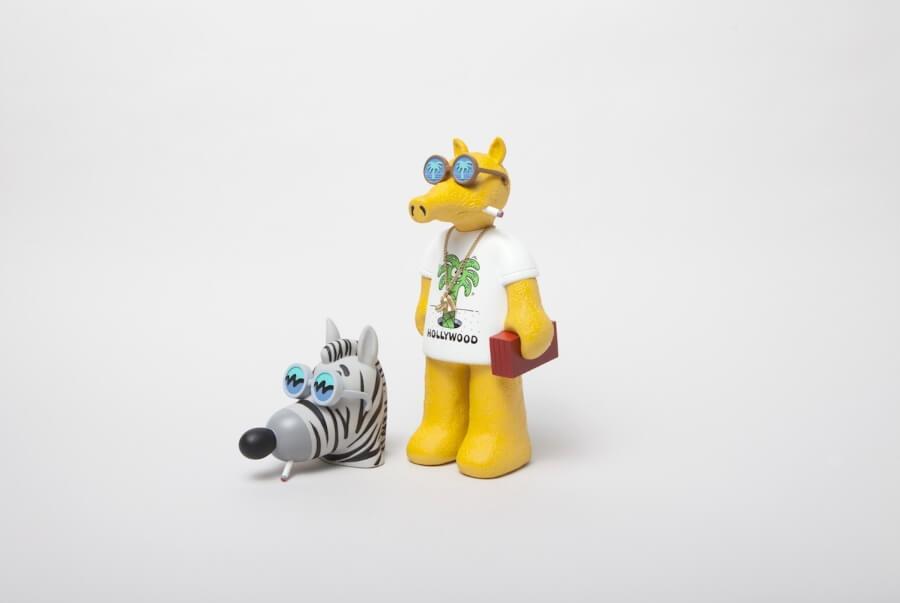 Los artistas presentan nuevo juguete