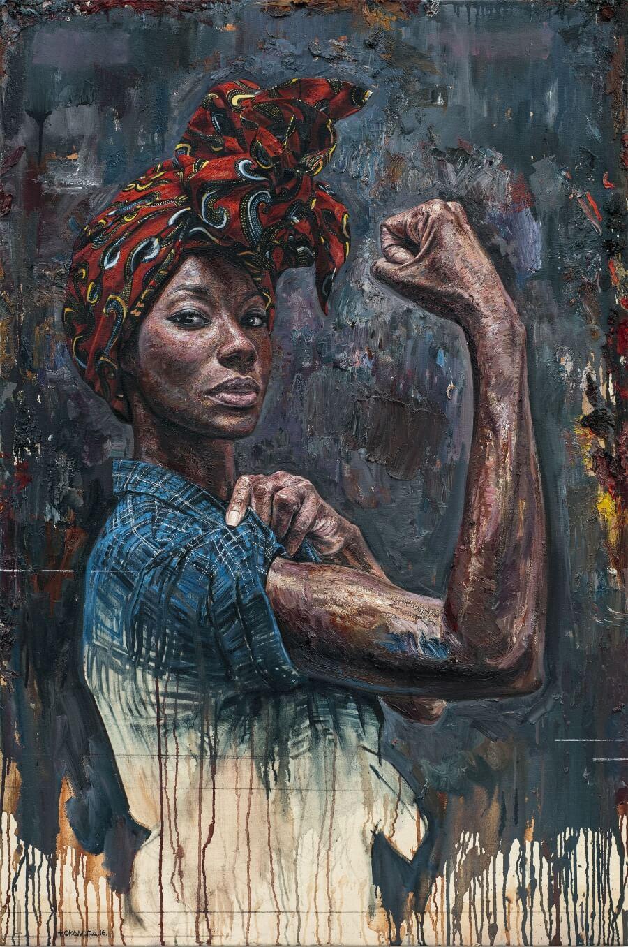 Tim Okamura representa el la fuerza y autenticidad de la mujer