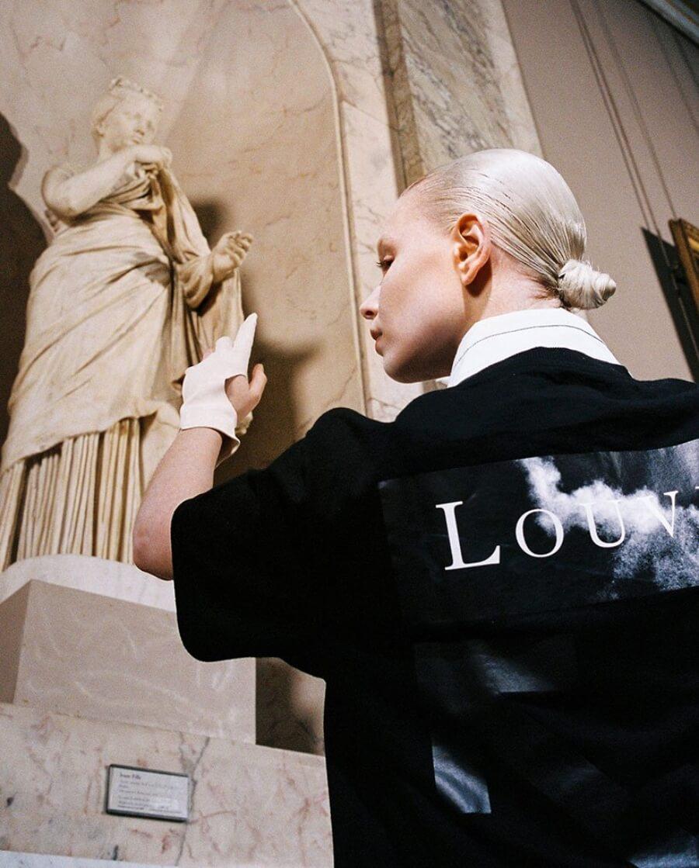 Virgil Abloh rinde tributo a Leonardo Da Vinci