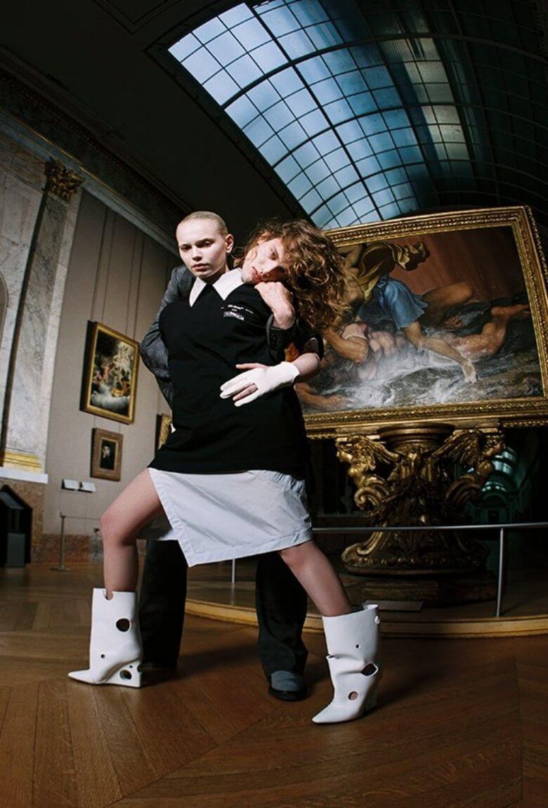 Virgil Abloh rinde homenaje a Da Vinci con esta colección