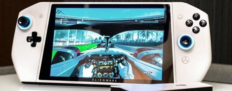 Alienware Concept UFO, una PC gamer portátil de Dell