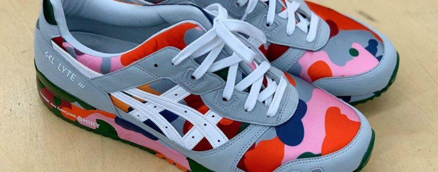 ASICS y COMME des GARÇONS lanzan sneakers