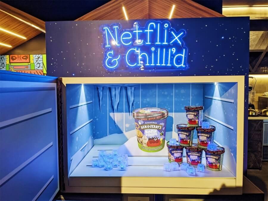Laempresa de helados se unió a Netflix