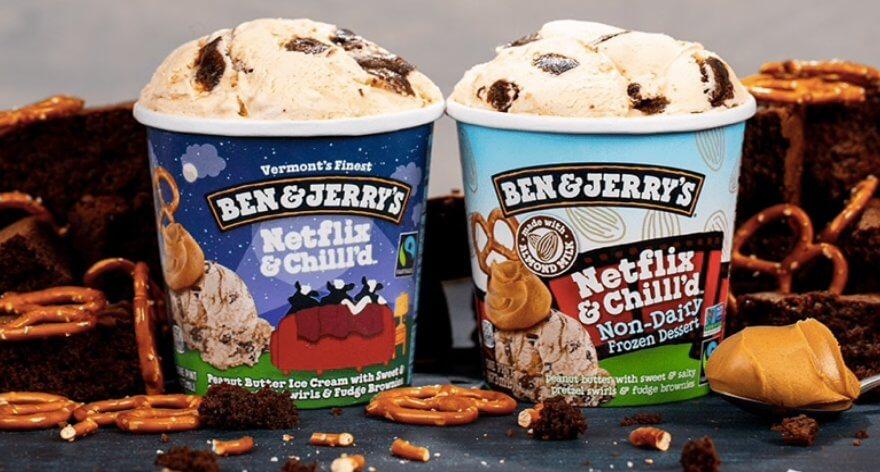 Ben & Jerry's y su helado en colaboración con Netflix
