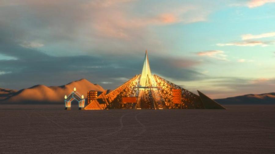 "Burning Man 2020 presenta ""Empyrean"""