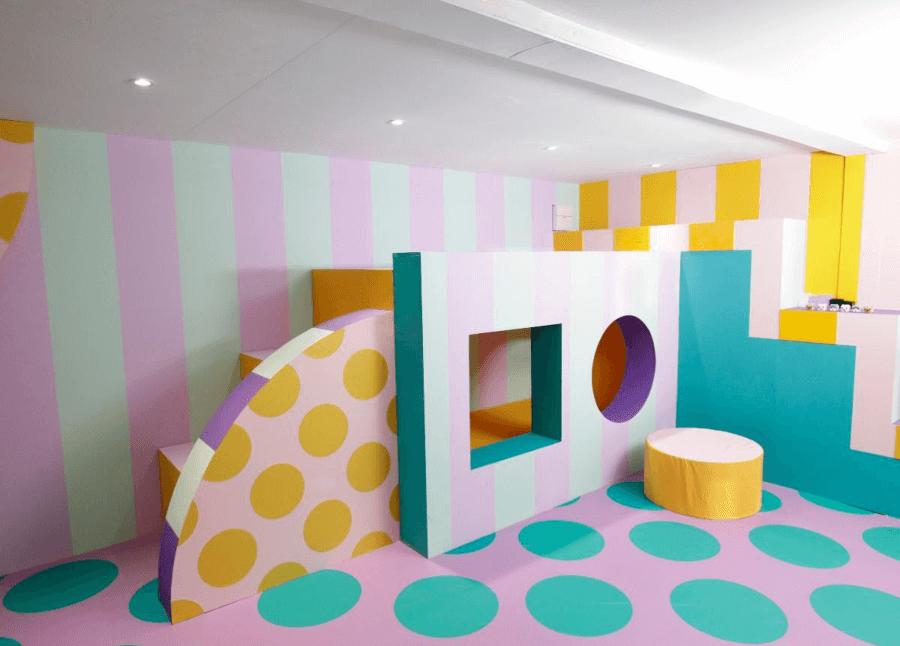 Camille Walala intervino casa LEGO