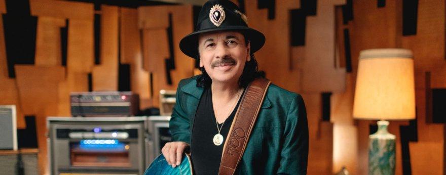 Carlos Santana lanzará sus productos de marihuana