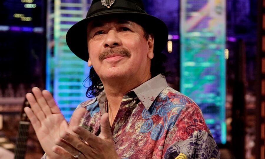 Carlos Santana sacará su línea cannabica en el verano