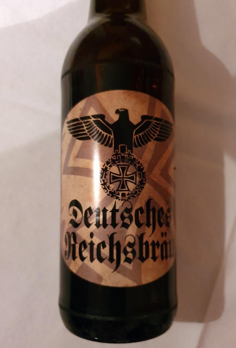 Cerveza con simbolismo nazi causa polémica y enojo