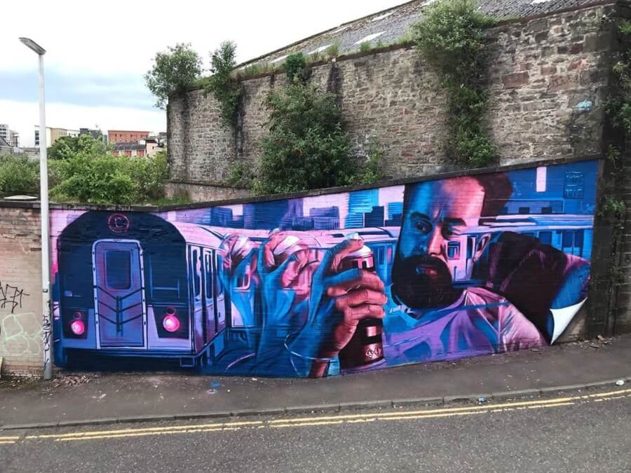 El dúo de artistas que está haciendo buen street art