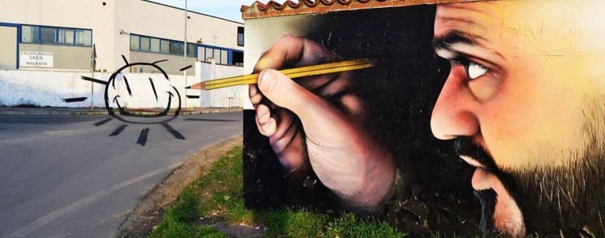 Cosimo Caiffa, el artista que da vida a los muros