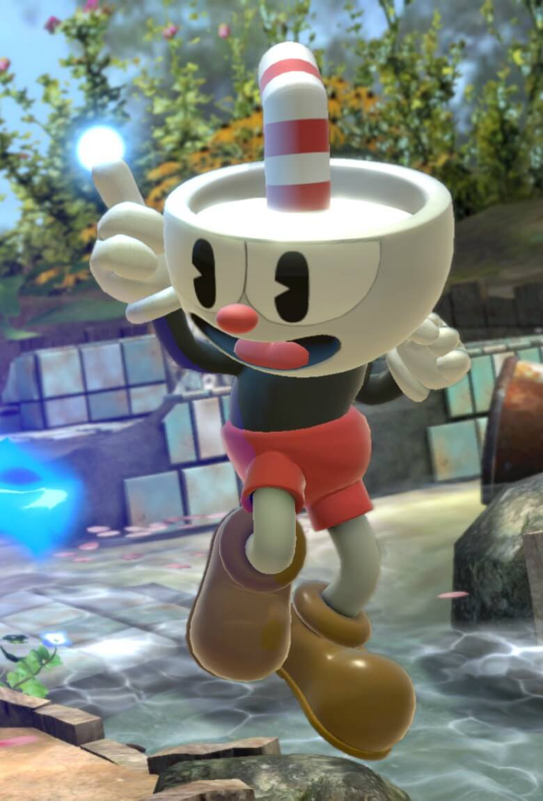 Cuphead llega a Super Smash Bros: Ultimate