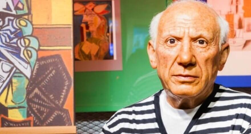 Man was arrested after damaging a Picasso