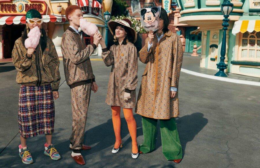 Disney y Gucci