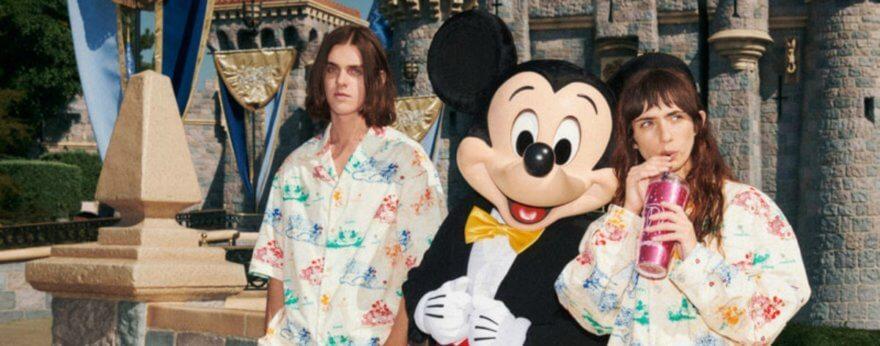 Disney y Gucci homenajean a Mickey Mouse
