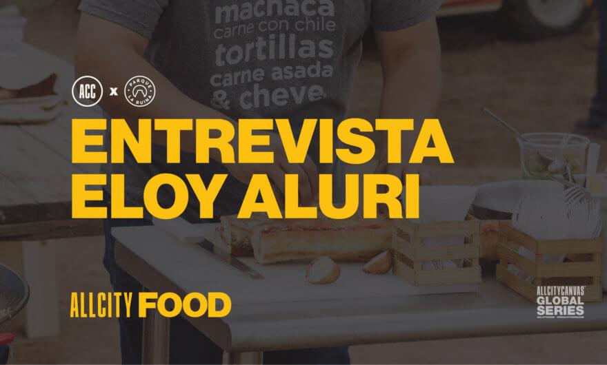 Eloy Aluri comparte comida y arte