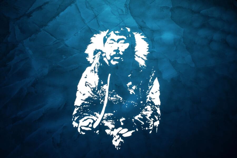 Fabrice Wittner pinto los cielos del Polo Norte
