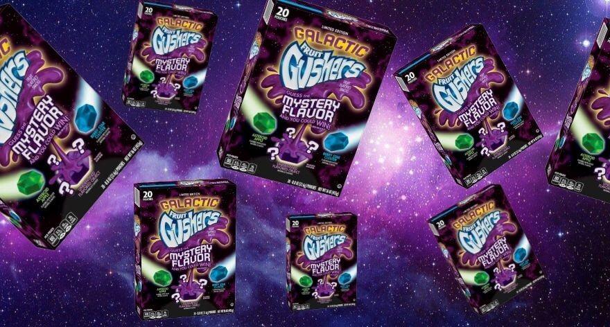 Fruit Gushers relanza su cereal de edición galáctica
