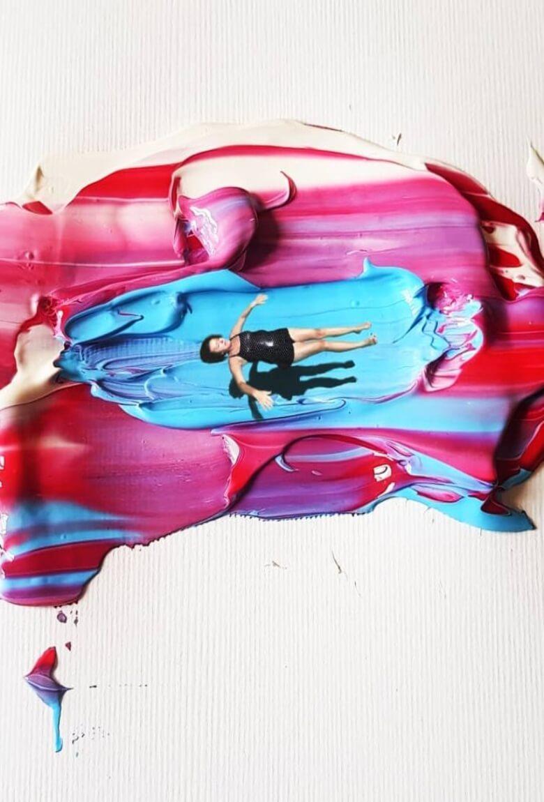Golsa Golchini, reminiscencias de color hechas arte