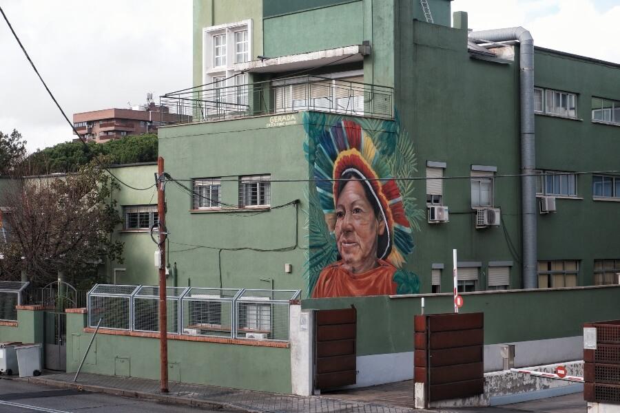 Jorge Rodríguez Gerada presentó dos nuevos murales en España