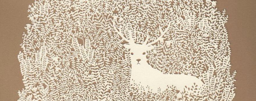 Kanako Abe y el arte de cortar papel