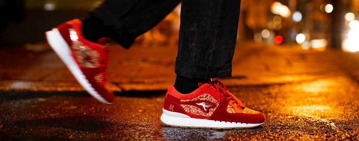 KangaROOS presenta sneakers del año nuevo chino