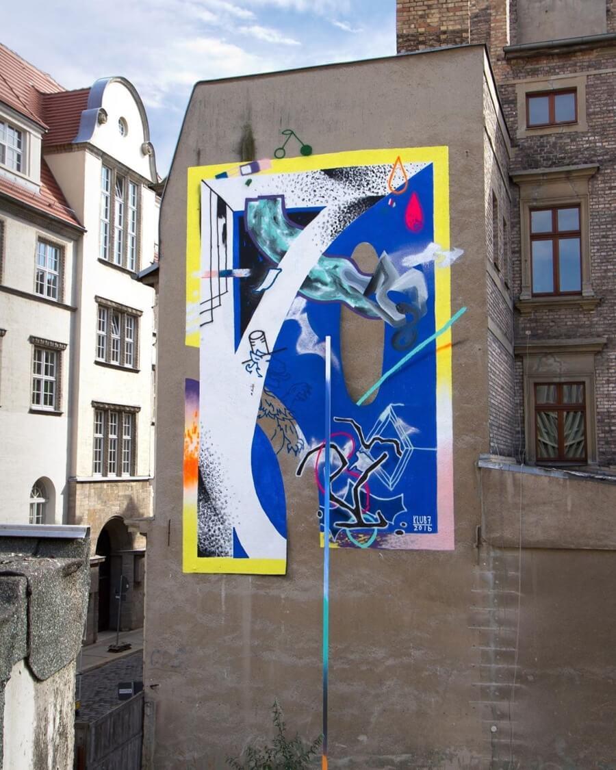 Klub7 Art Collective del street art a la instalación