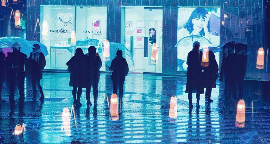 Liam Wong y los retratos de un Tokyo futurista