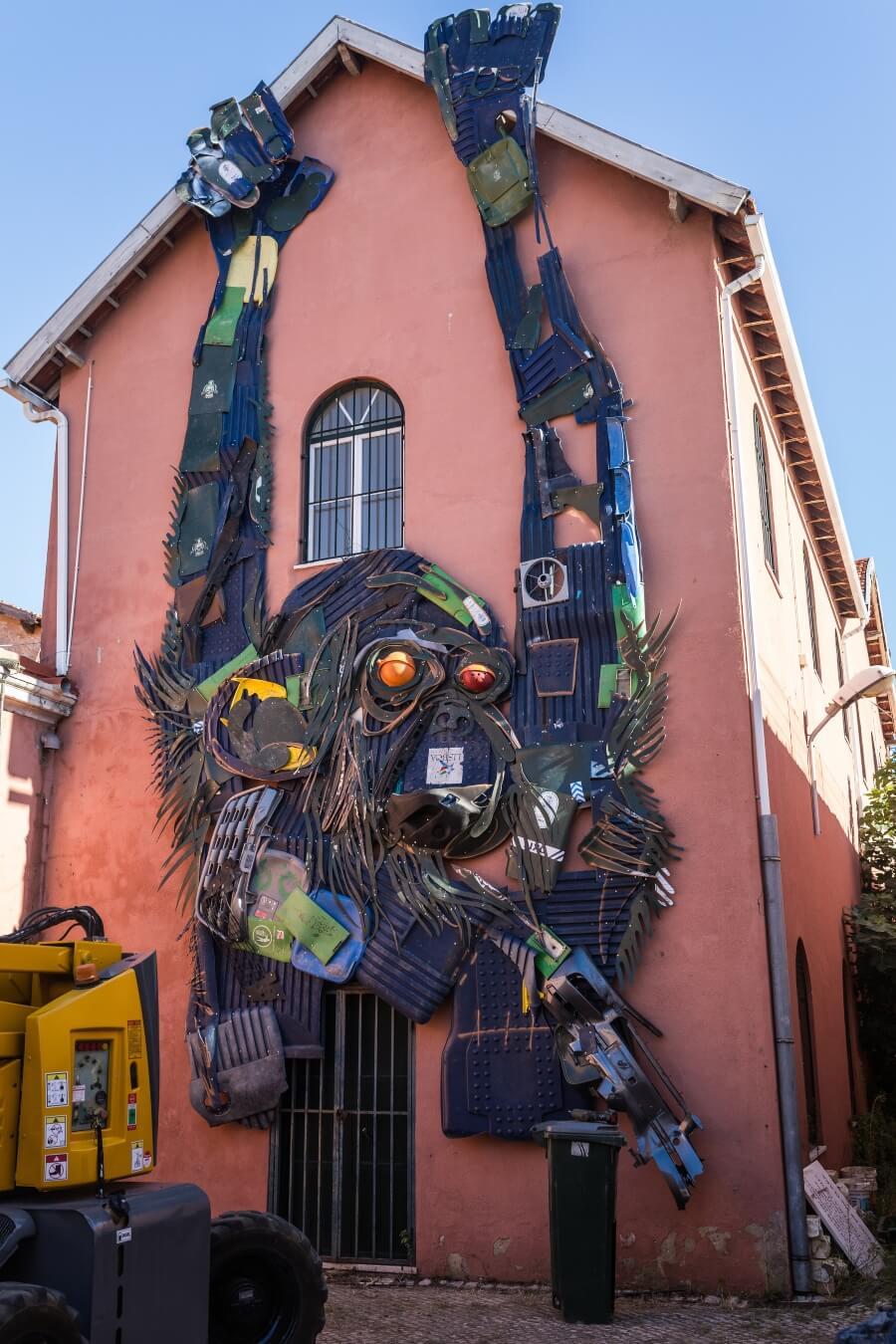 La publicación que recopila lo mejor del street art portugués
