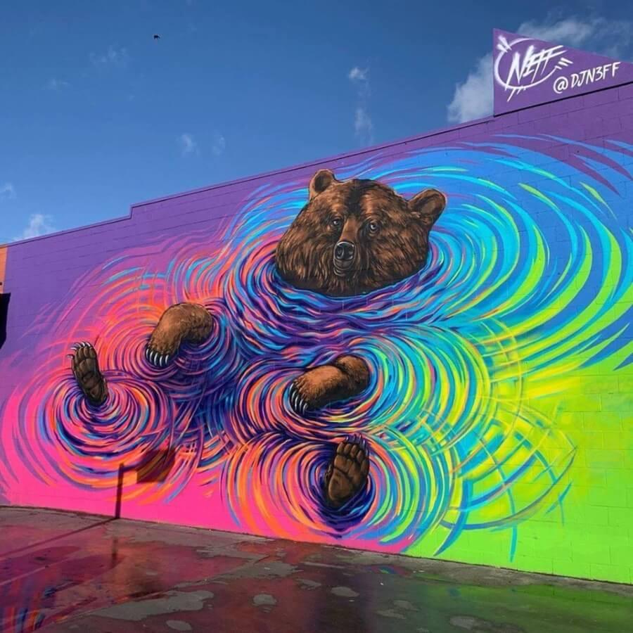 Los murales del mes de enero de 2020