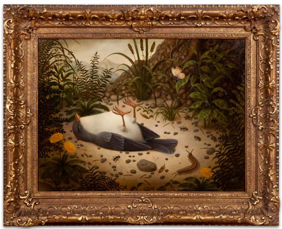 El pop surrealista se hace presente en la obra de la pintora