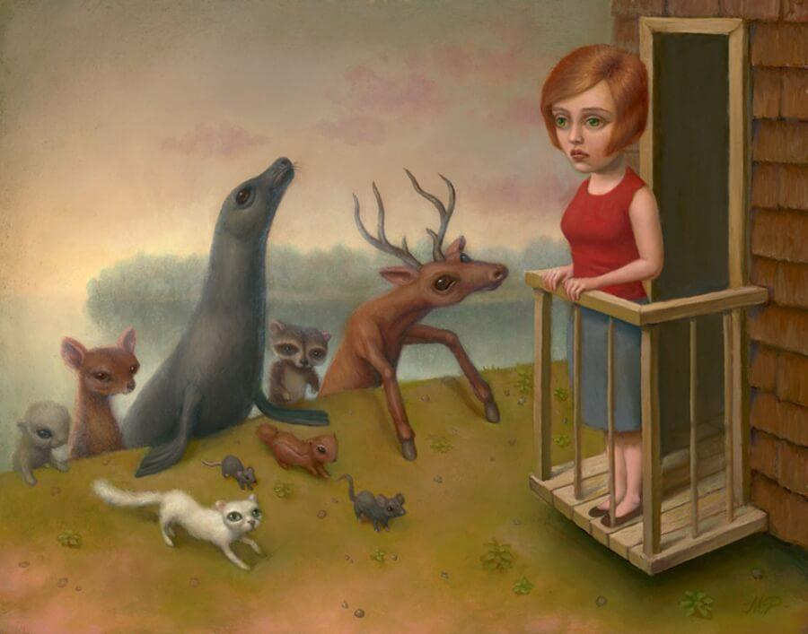 Marion Peck, un mundo interior lleno de surrealismo pop
