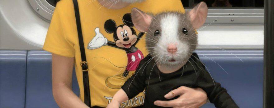 Matthew Grabelsky el lado animal del humano