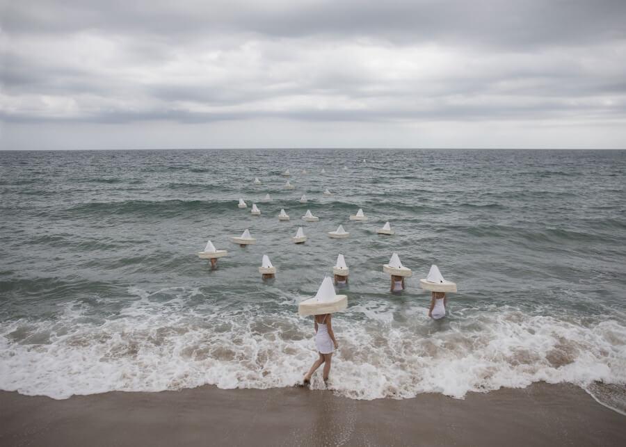 La fotógrafa espone la condición humana en sus imágenes