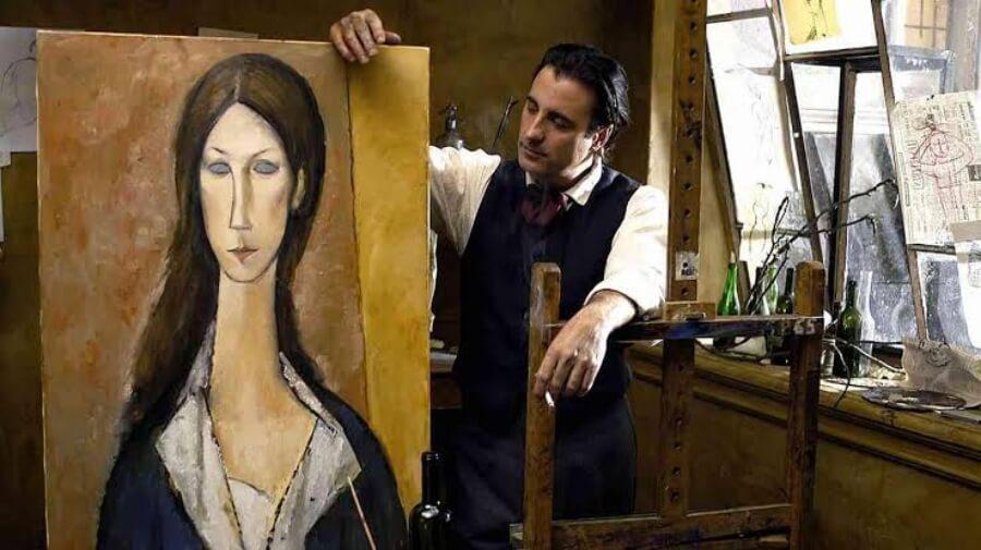 Mi¿odigliani llega al Palacio de Bellas artes