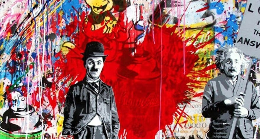 Mr. Brainwash, the hybrid graffiti artist