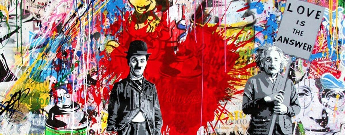 Mr. Brainwash, the hybrid graffiti artist