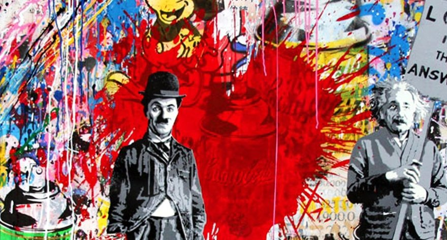 Mr Brainwash, el artista híbrido del graffiti