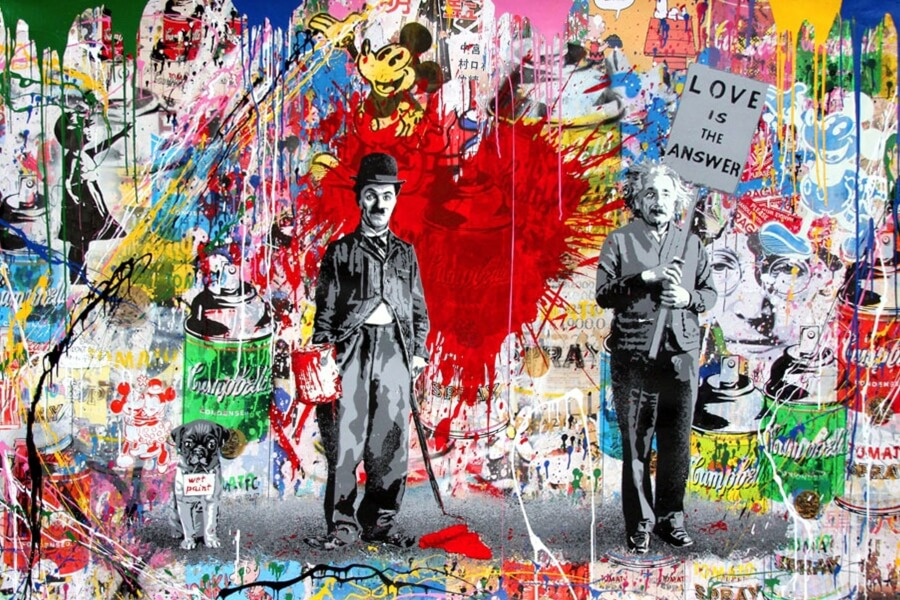 Mr. Brainwash the symbiosis of graffiti